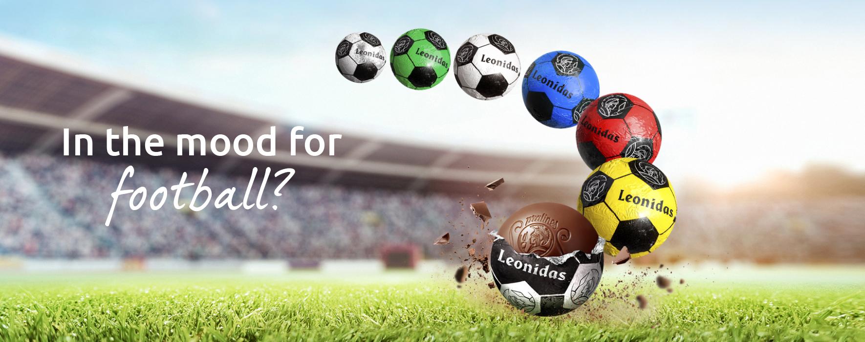 Leonidas Football Assortment   Quick Delivery   LEONIDAS ONLINE