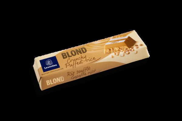 Barre Chocolatée Blond Riz Soufflé