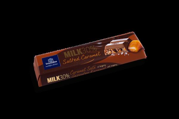 Barre Chocolatée Lait Caramel Salé