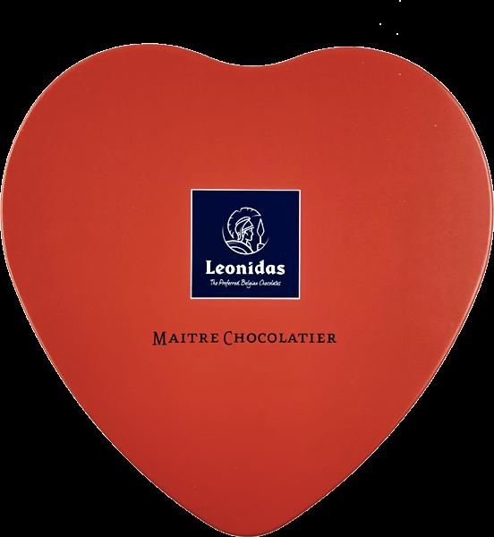 Boîte Coeur Métal St Valentin