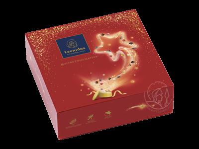 Leonidas Boîte Noël L Assortiment Pralines/Chocolats