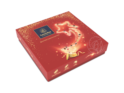 Leonidas Boîte Noël M Assortiment Pralines/Chocolats