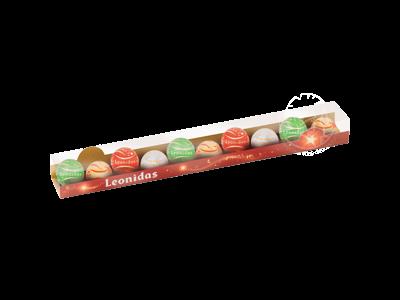 Leonidas Réglette Noël Assortiment Boules en Chocolats