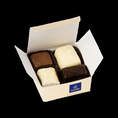 Leonidas Ballotin Assortiment Pralines/Chocolats 4 Pièces B2B