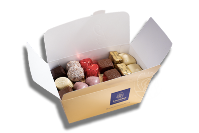 Ballotin Assortiment Pralines/Chocolats 750gr