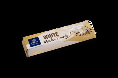 Barre Chocolatée Blanc Perles Moka