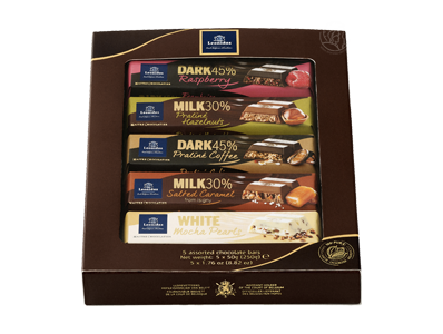 Boîte Multipack 5 Barres Chocolatées