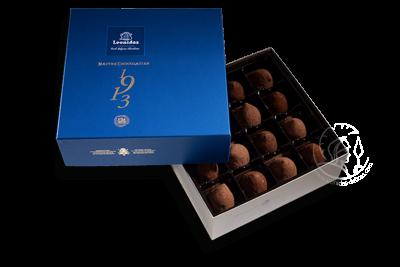 Boîte Santiago Bleue Assortiment Truffes
