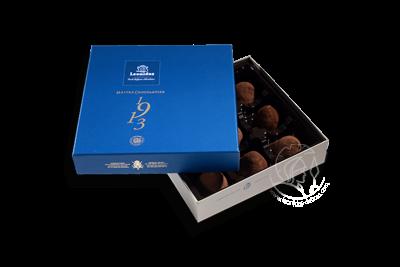 Boîte Togo Bleue Assortiment Truffes