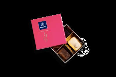 Boîte XS Fuschia Assortiment Pralines/Chocolats