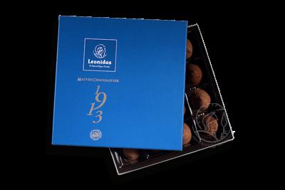 Boîte Zanzibar Bleue Assortiment Truffes