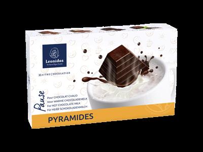 Leonidas Coffret 8 Pyramides pour chocolat chaud