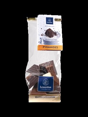 Leonidas Sachet 11 Pyramides pour chocolat chaud
